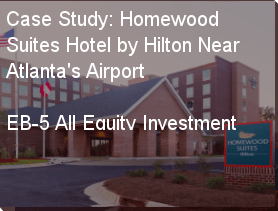 An Image from the outside of the EB-5 Project Hotel Homewood Suites